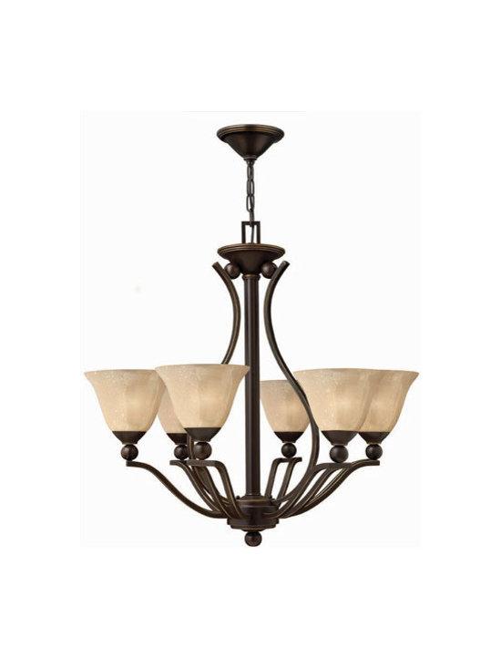 Hinkley Lighting 4656OB 6 Light Chandelier Bolla Collection -