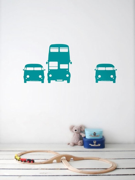 Ferm Living Rush Hour WallSticker - Ferm Living Rush Hour WallSticker