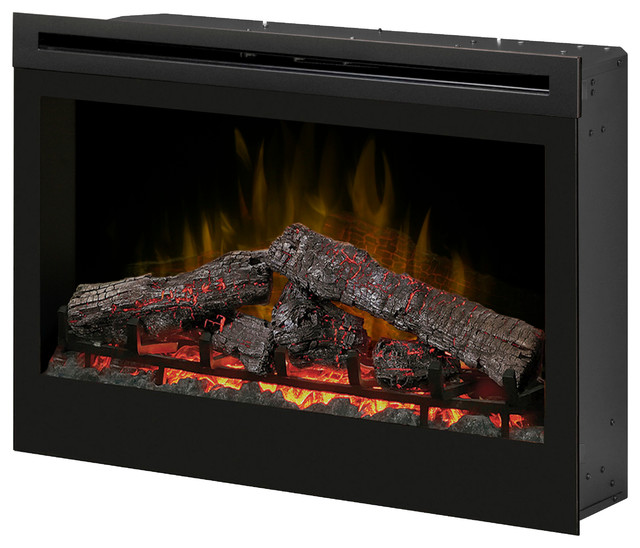 Dimplex 33-Inch Plug-in Electrical Fireplace - DF3033ST - Traditional - Indoor Fireplaces ...