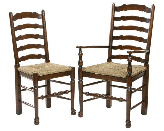 Ladder back dining chair - Antique style ladder back dining chair