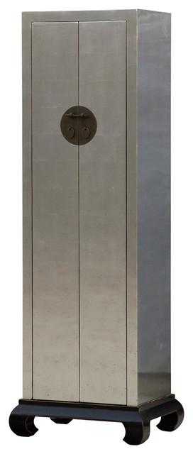 Narrow Cabinet 2 Door asian-storage-cabinets