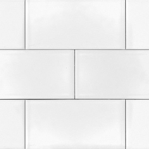 Ice White- 3x6 Glossy Subway Tile, 3x6, Box of 10 Square Feet eclectic-wall-and-floor-tile