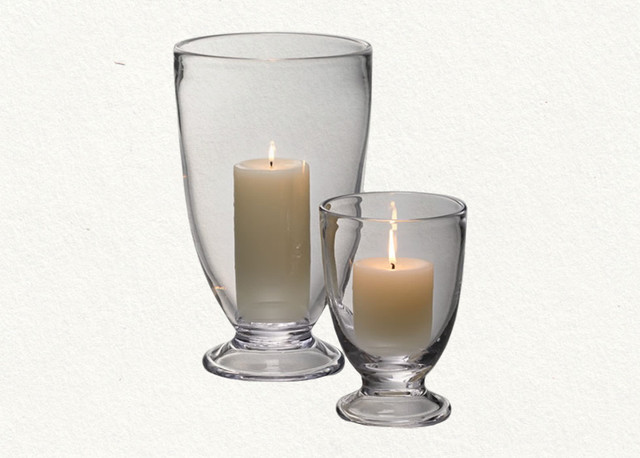 traditional candles and candle holders Simon Pearce Cavendish Hurricane