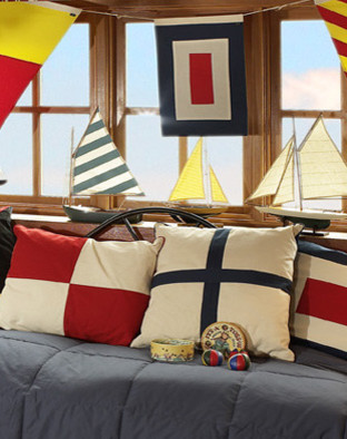 Signal Flag Dcor, W Flag traditional accessories and decor