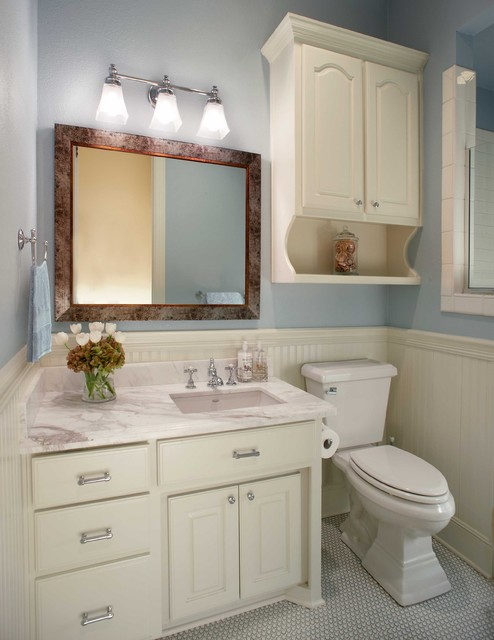 Small bathroom remodel traditional bathroom Redesigning small bathrooms