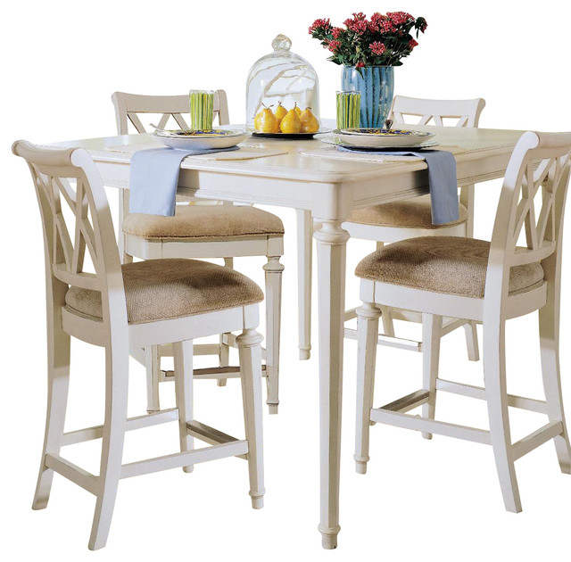 american drew camden light 5 piece gathering dining room