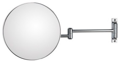"""Discololed 9.1"""" Wall-Mount Magnifying Cosmetic Mirror modern-makeup-mirrors"""