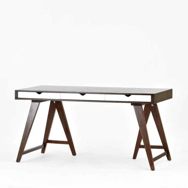 Trestle Desk modern-desks-and-hutches