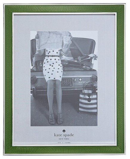 Chamber's Bay Silver-Plated Frame contemporary-picture-frames