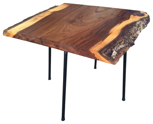 Mod Slab Wood Coffee Tables Modern Coffee Tables