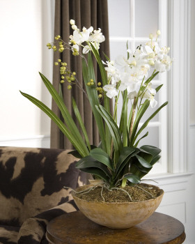 60039 Moth Orchid Planter by uttermost modern-indoor-pots-and-planters