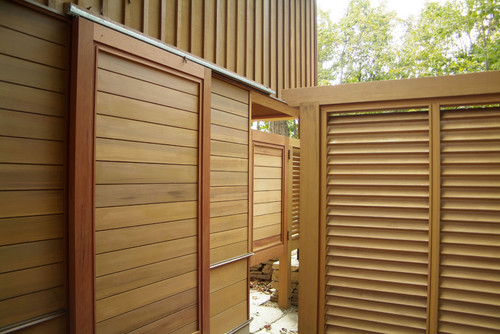 Which Manufacturer Makes The Louvered Panels What Are They Made Of