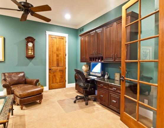 Beauty on Devil's Backbone traditional-home-office