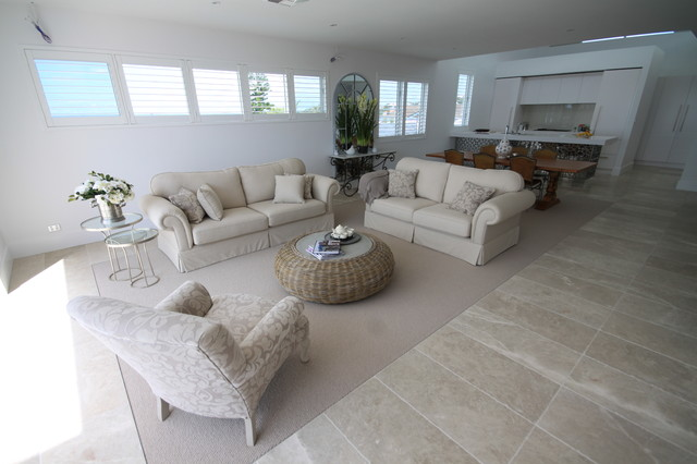 Cashmere Marble Flooring Contemporary Living Room Other Metro By Amber Tiles Australia