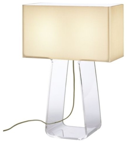 Tube Top Table Lamp contemporary-table-lamps
