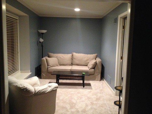 Help Converting Bedroom W Sitting Room Into More Of A
