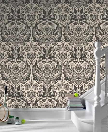 Graham & Brown Desire Damask Wallpaper eclectic-wallpaper