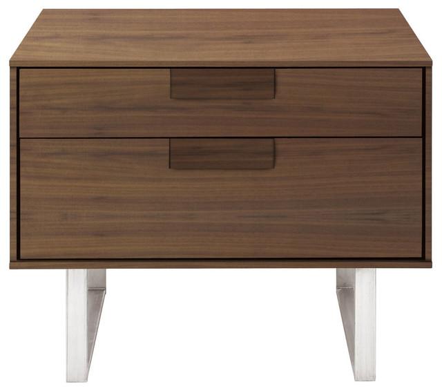 Blu Dot Series 11 Nightstand, Walnut modern-nightstands-and-bedside-tables
