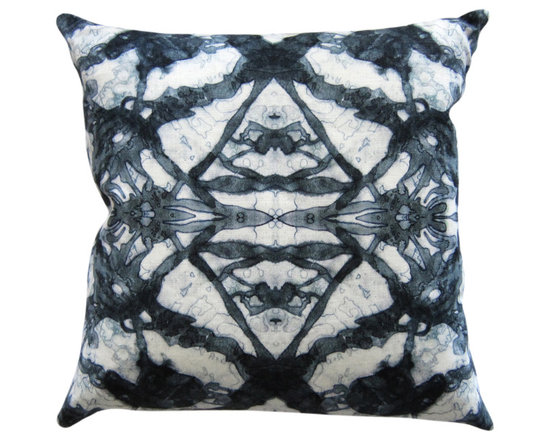 "The Gypsy - ocean 18""x18"" pillow -"
