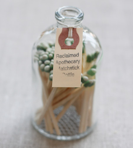 Apothecary Match Bottle eclectic-home-decor