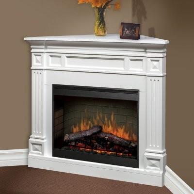 Dimplex Traditional Corner Ii Electric Fireplace Modern