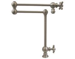 Whitehaus Whkpfdcr3-9555-Bn Deck Mount Pot contemporary-kitchen-faucets