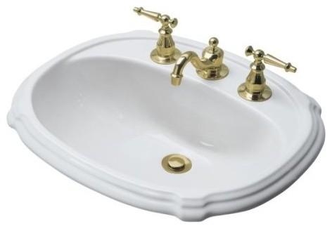 Http Www Houzz Com Photos 6981588 Kohler K 2189 8 0 Portrait Self Rimming Drop In Bathroom Sink With 8 Wide Contemporary Bathroom Sinks