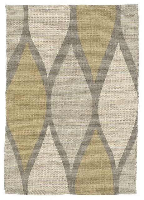 Allegra Hicks Printed Harlequin Jute Rug contemporary-rugs