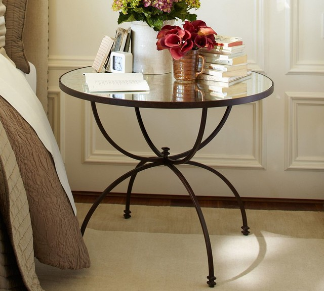 Willow Bedside Table traditional