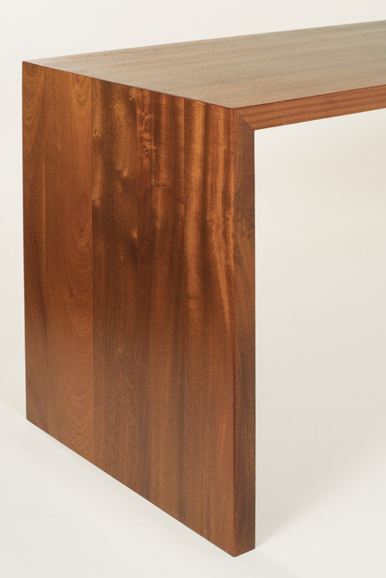 Waterfall Wood Tables By Craft Art Elegant Surfaces