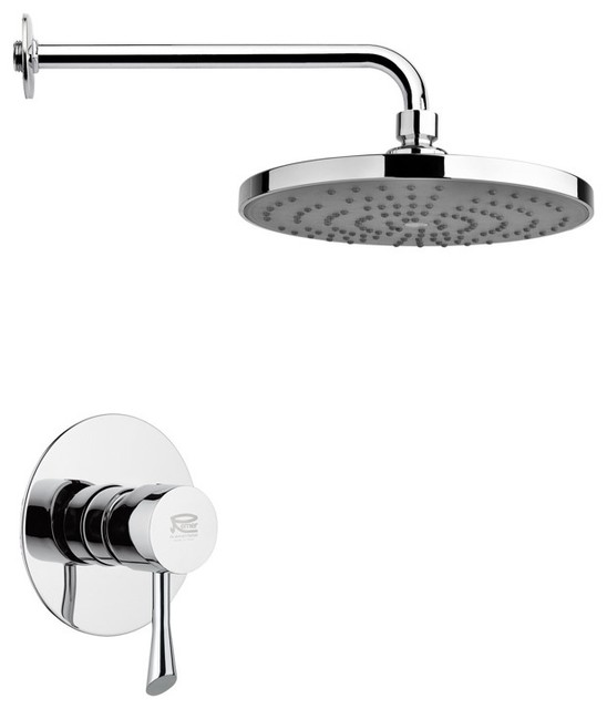Rain Shower Faucet Set By Remer Modern Showerheads And Body Sprays Othe