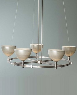 Clay II Low Voltage Round Monorail Chandelier Kit 9 Light Modern Chande