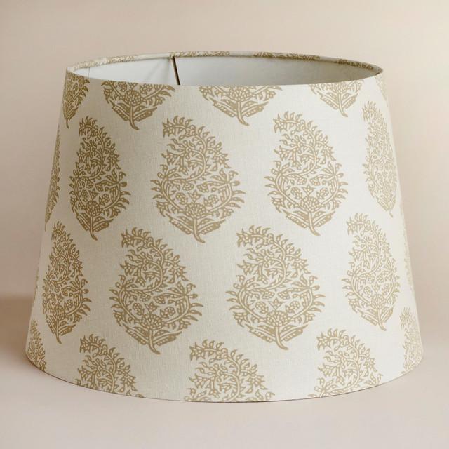 natural paisley table lamp shade traditional lamp shades. Black Bedroom Furniture Sets. Home Design Ideas