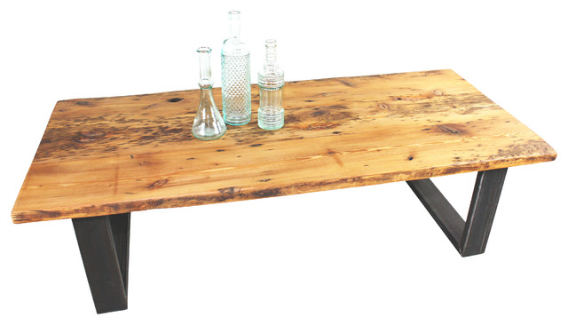 Old Growth Reclaimed Pine Coffee Table Rustic Coffee Tables By What We Make