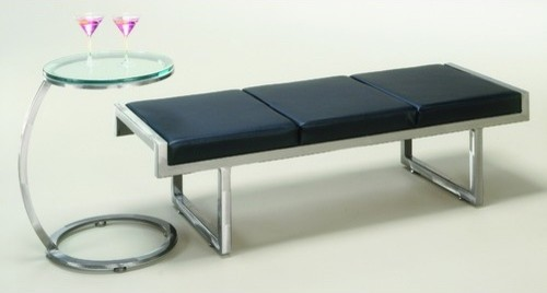 Quest Metal End Table and Bench modern-side-tables-and-end-tables