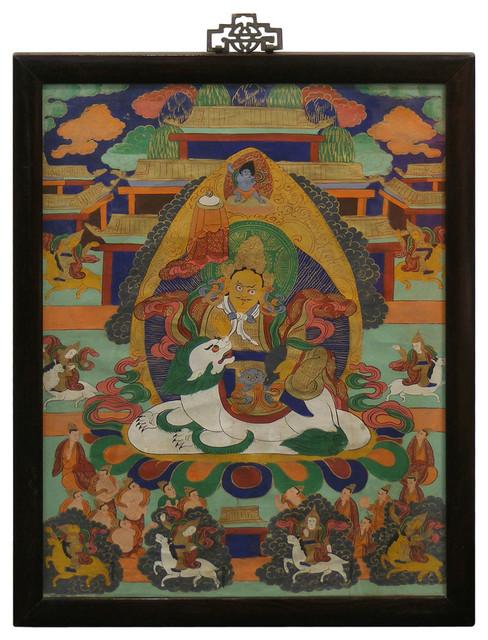 Tibetan Tang Ka Painting asian-home-decor