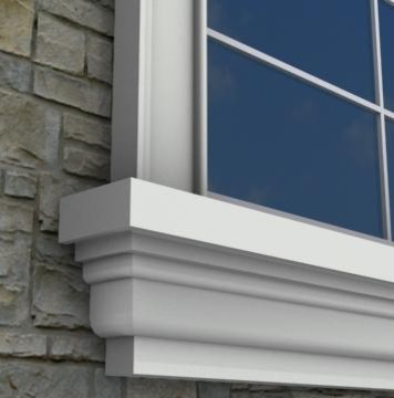 MX212 Exterior Window Sills Molding And Trim Toronto By Mouldex Exter