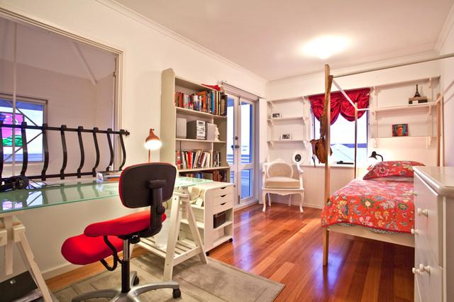 Interior contemporary-bedroom