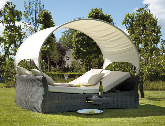 Garden bed wicker  outdoor sofas