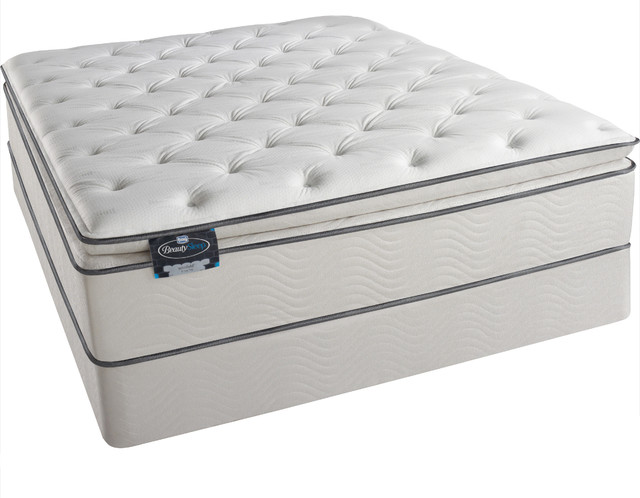 Simmons Beautysleep Titus Pillow Top King Size Mattress Set Contemporary Mattresses By