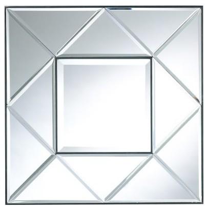 Cooper Classics Sorrell Mirror - 24W x 24H in. modern-mirrors