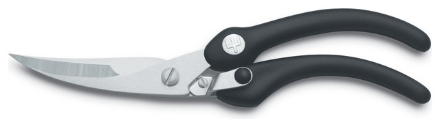"""Wusthof Grand Prix II 10"""" Poultry Shears contemporary-kitchen-shears"""