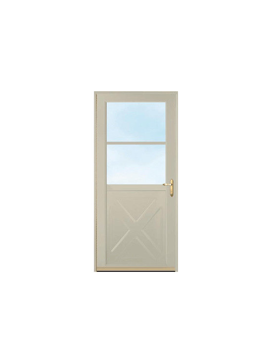Storm Doors - A storm door effectively adds another layer of safety to your home to protect against hazardous weather. Let us know what your thoughts are on this door and ask a question! | Hunt Valley, MD | Clearview Window & Door Company