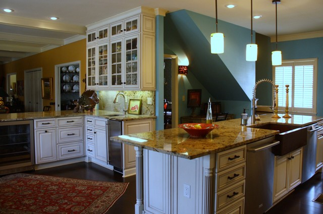 Grounds~Remodel traditional-kitchen