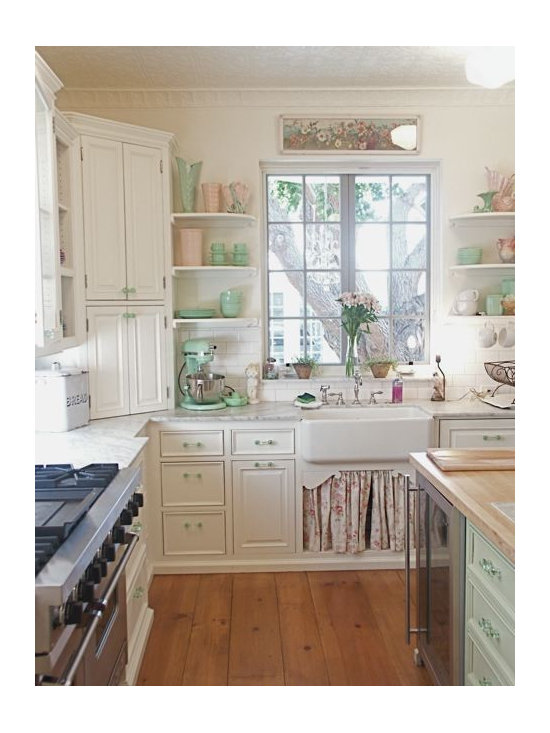 shabby chic kitchen design ideas pictures remodel and decor