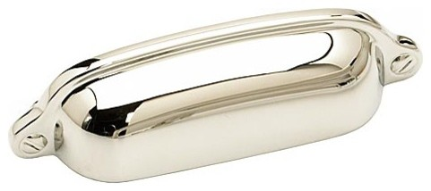 Schaub and Company Traditional Design Cup Pull - Traditional - Cabinet And Drawer Handle Pulls ...
