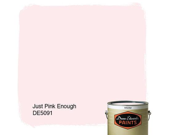 Dunn-Edwards Paints Just Pink Enough DE5091 -