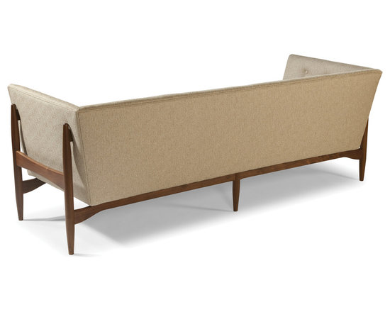 Button Up Sofa (back view) by Milo Baughman from Thayer Coggin -