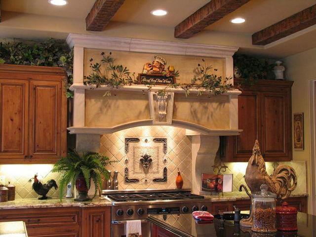 Kitchen Backsplashes mediterranean-tile