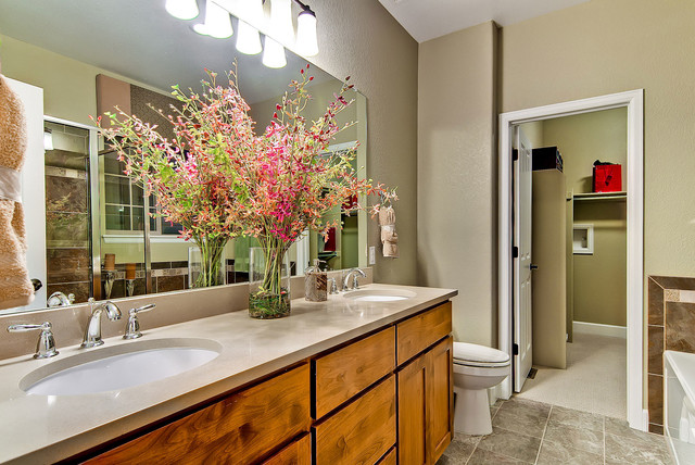 Heritage at Stapleton traditional-bathroom